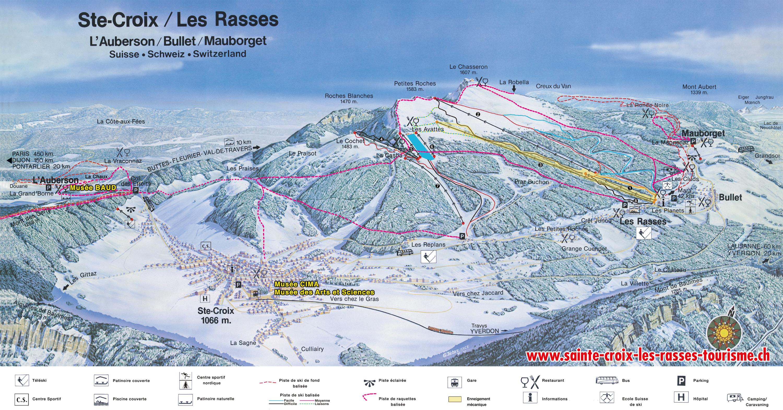Les Rasses Switzerland  city pictures gallery : Ste Croix / Les Rasses, Schneebericht und Wetter, Pisten Bericht ...